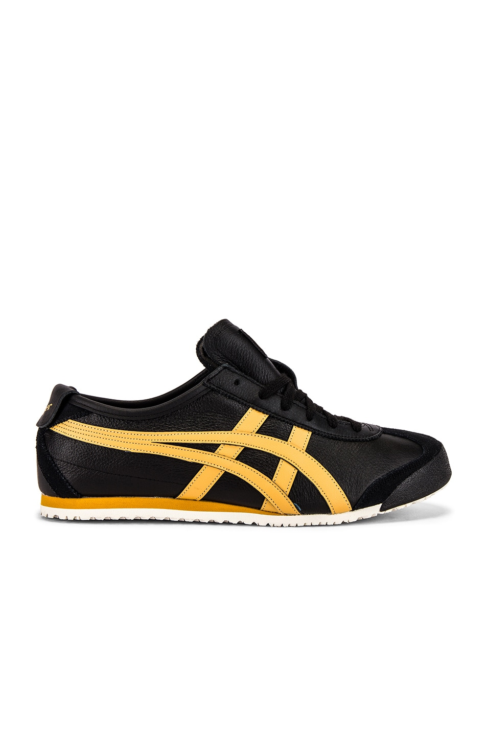 Image 2 of Onitsuka Tiger Mexico 66 in Black & Honey