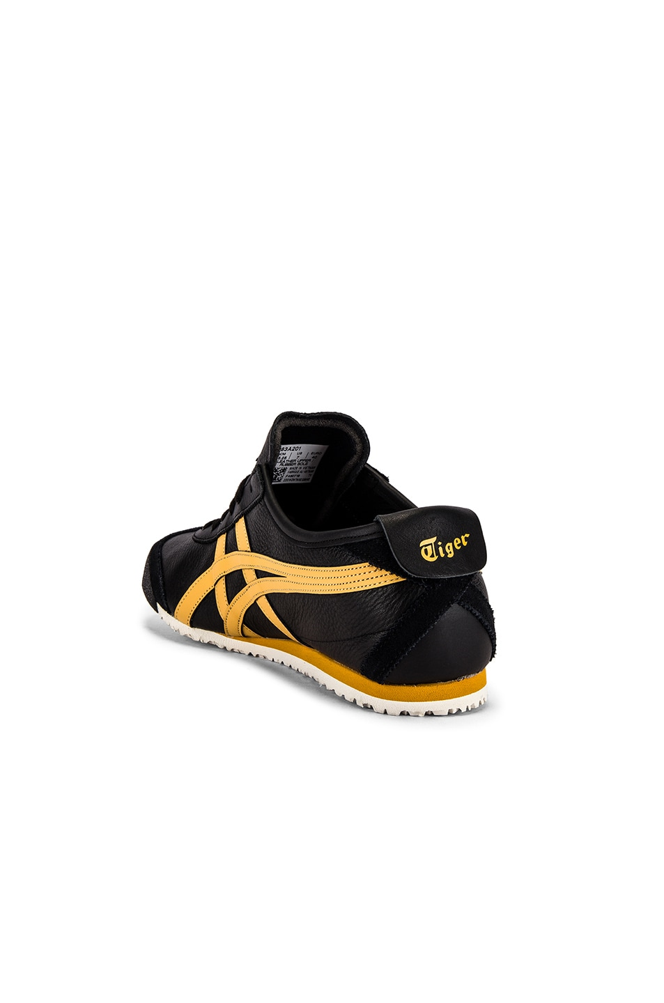 Image 3 of Onitsuka Tiger Mexico 66 in Black & Honey