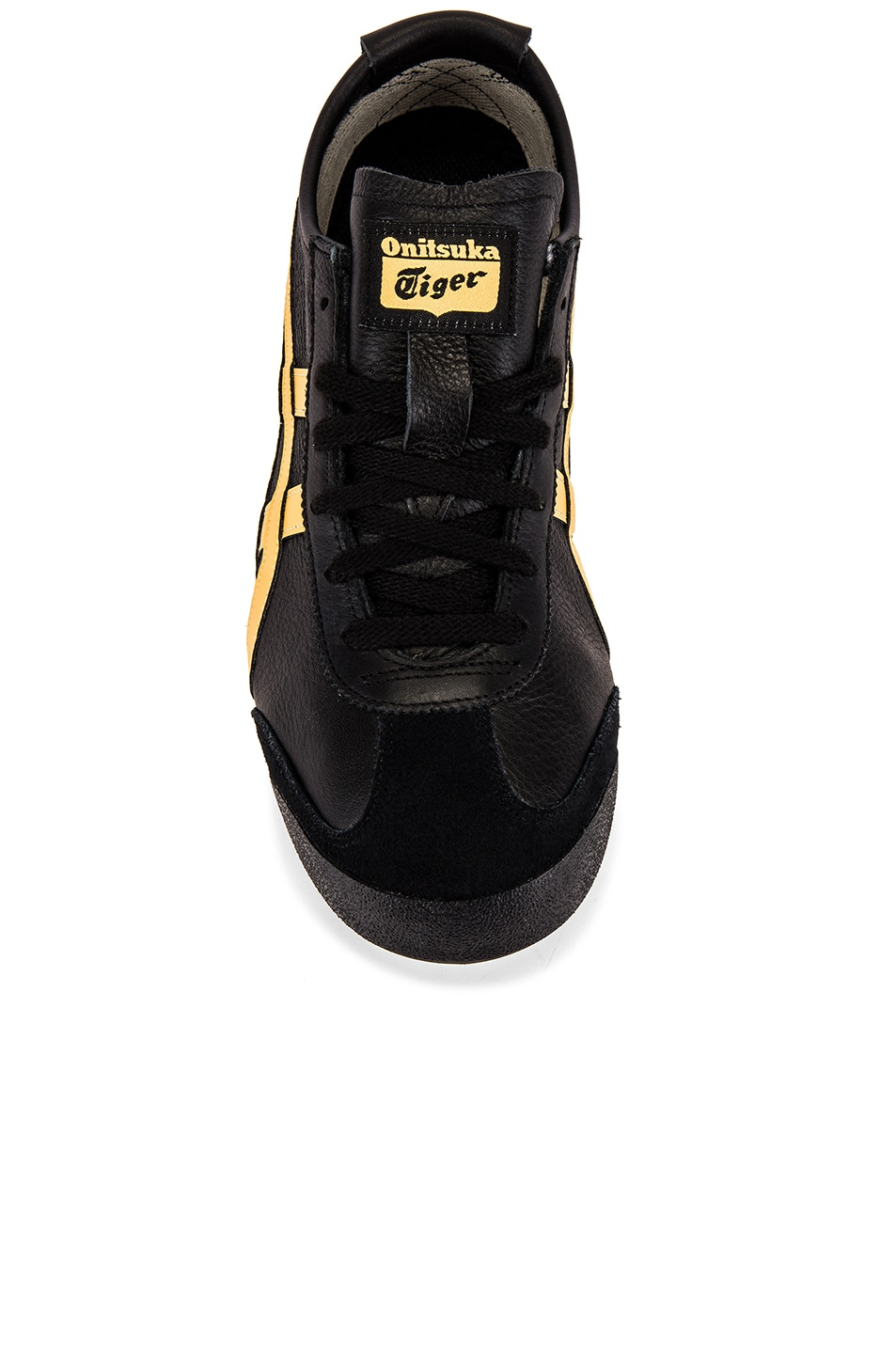 Image 4 of Onitsuka Tiger Mexico 66 in Black & Honey