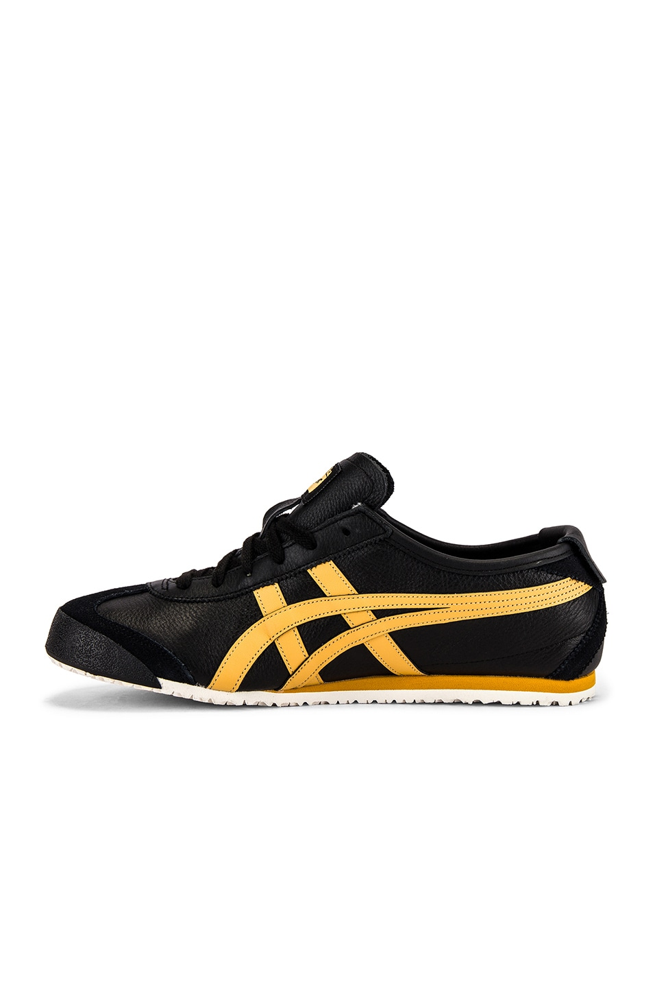 Image 5 of Onitsuka Tiger Mexico 66 in Black & Honey