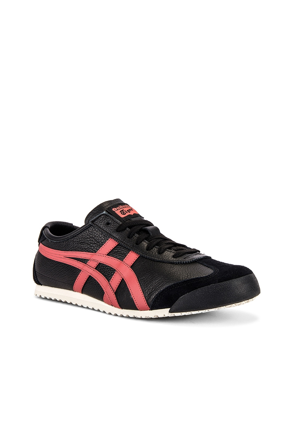 Image 1 of Onitsuka Tiger Mexico 66 in Black & Burnt Red