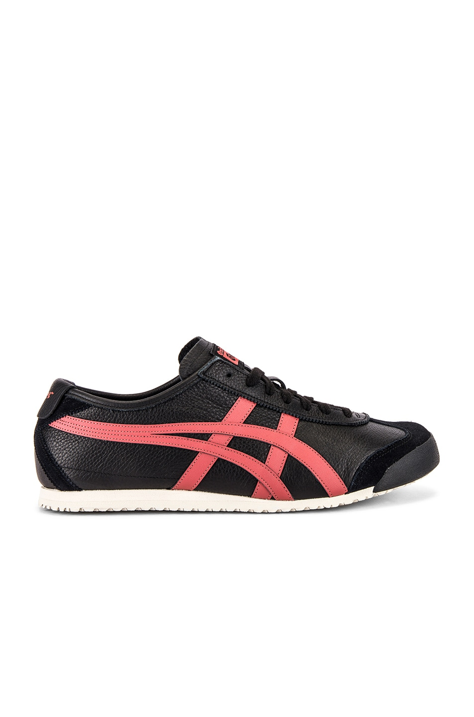 Image 2 of Onitsuka Tiger Mexico 66 in Black & Burnt Red