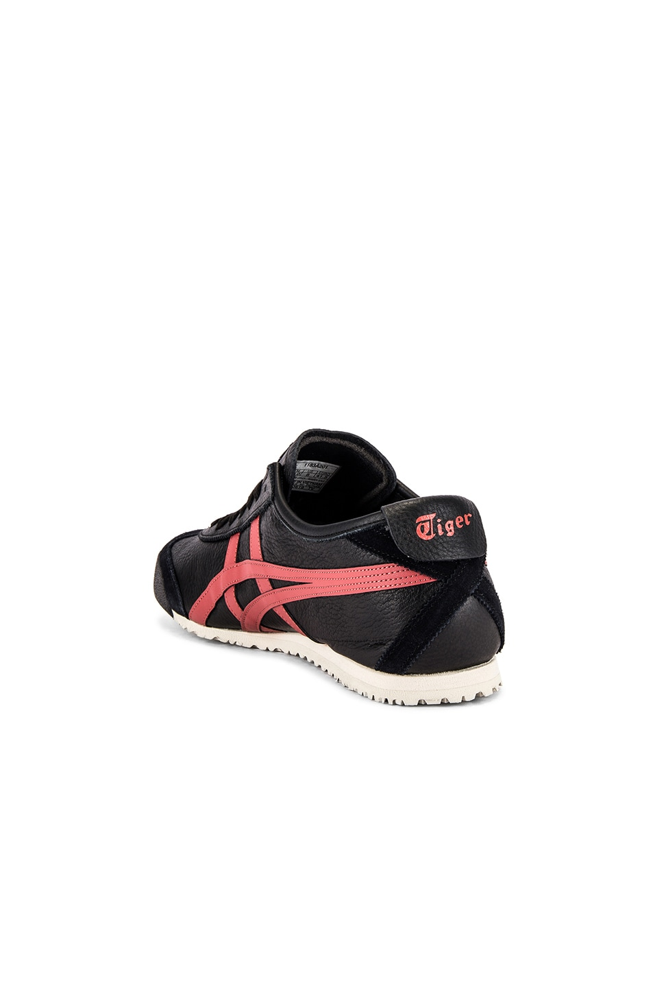 Image 3 of Onitsuka Tiger Mexico 66 in Black & Burnt Red