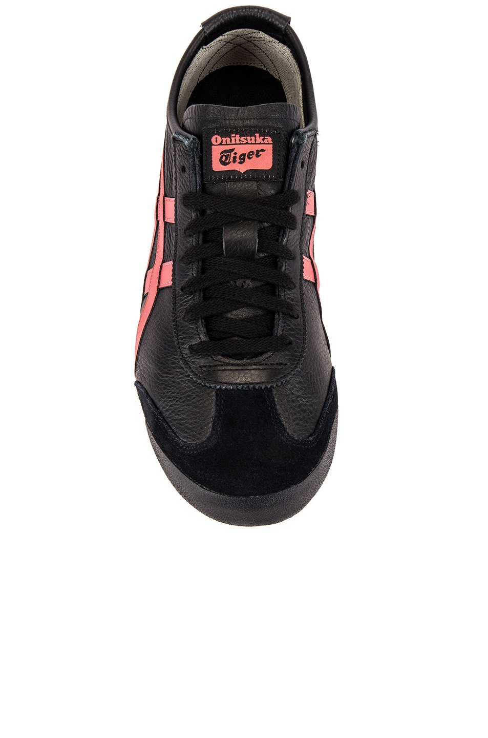 Image 4 of Onitsuka Tiger Mexico 66 in Black & Burnt Red