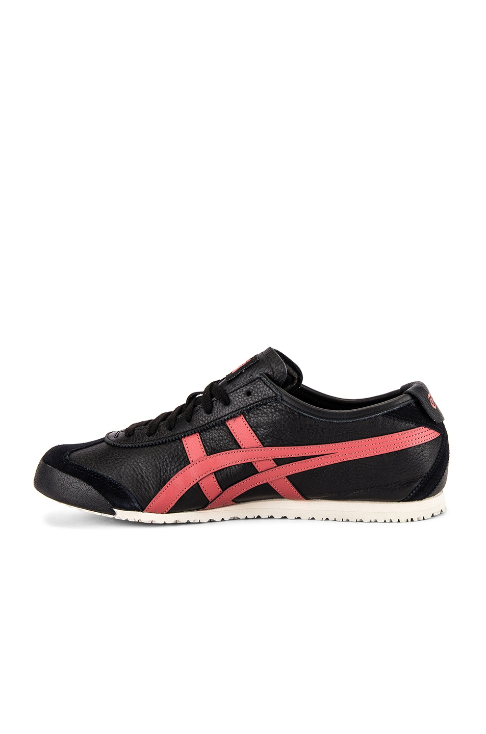 Image 5 of Onitsuka Tiger Mexico 66 in Black & Burnt Red