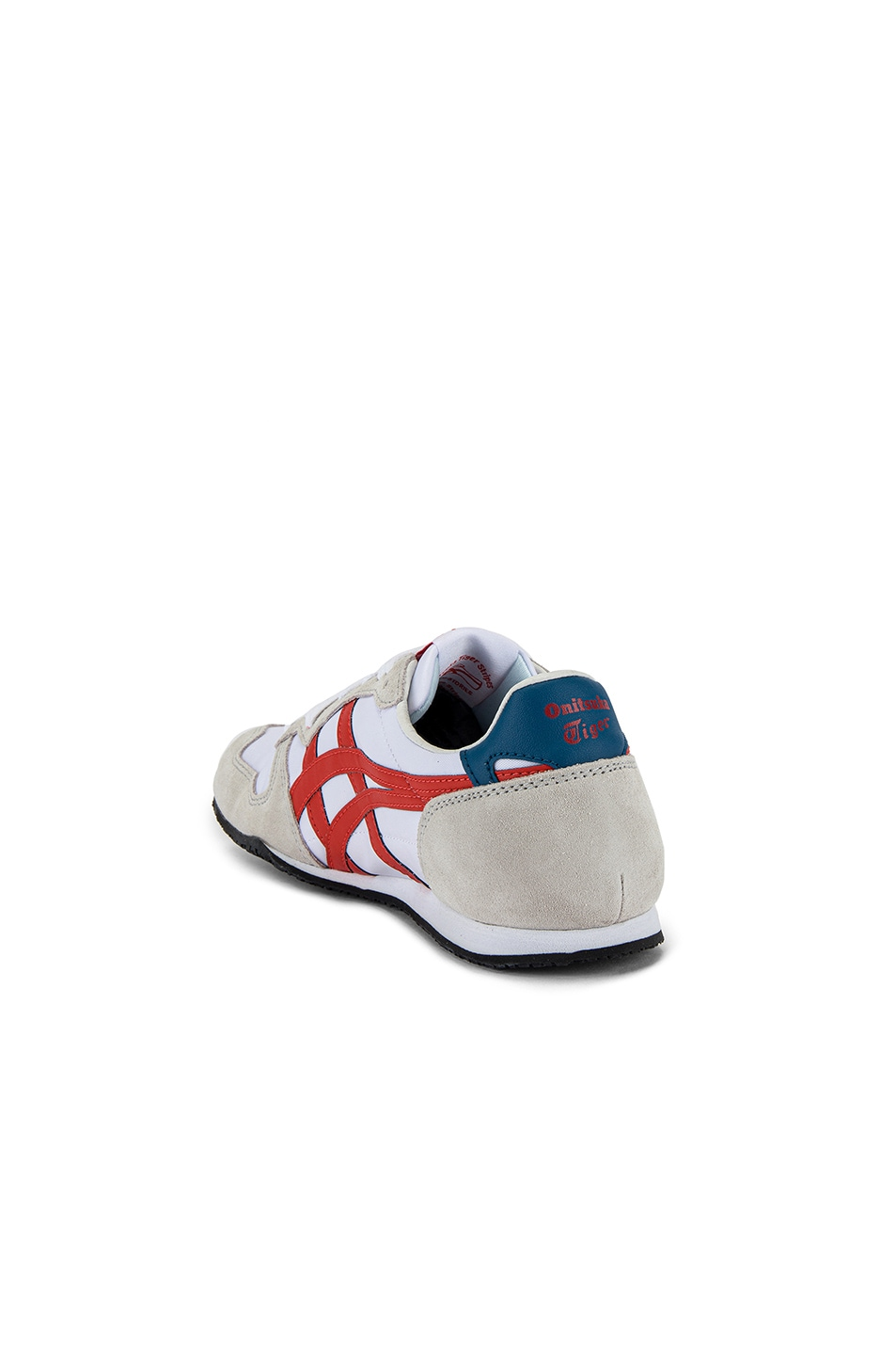 Image 3 of Onitsuka Tiger Serrano in White & Fire Opal