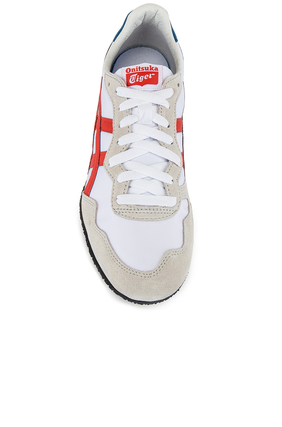 Image 4 of Onitsuka Tiger Serrano in White & Fire Opal