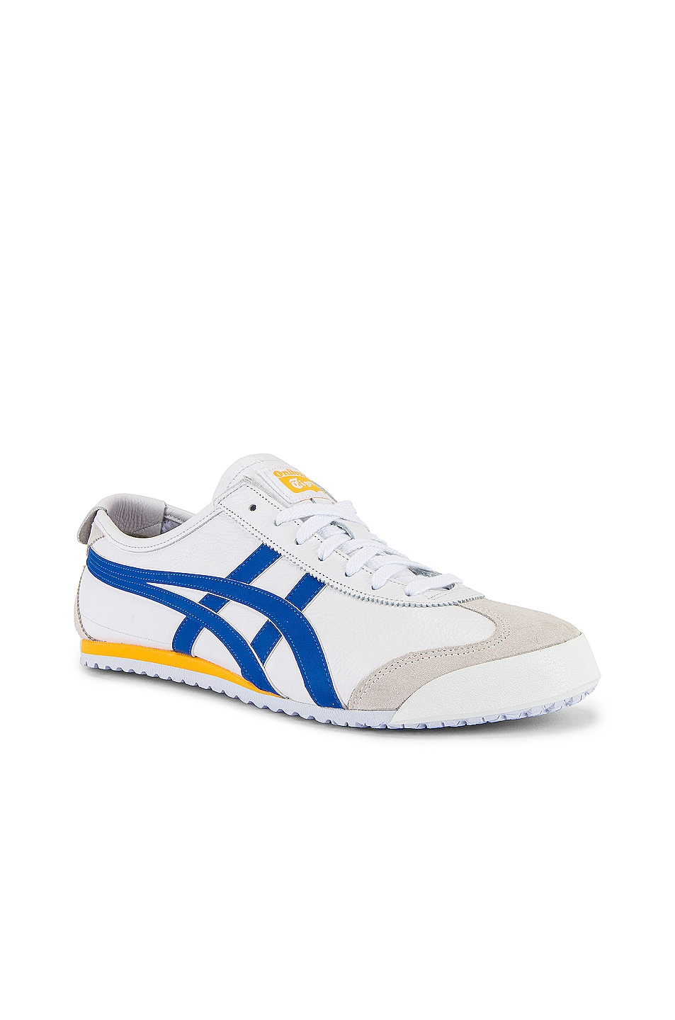 Image 1 of Onitsuka Tiger Mexico 66 in White & Freedom Blue