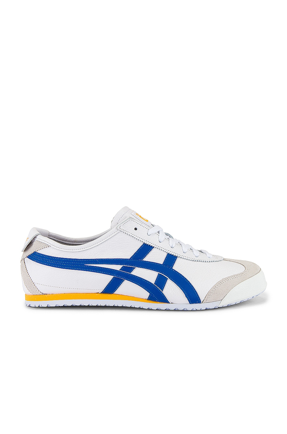 Image 2 of Onitsuka Tiger Mexico 66 in White & Freedom Blue