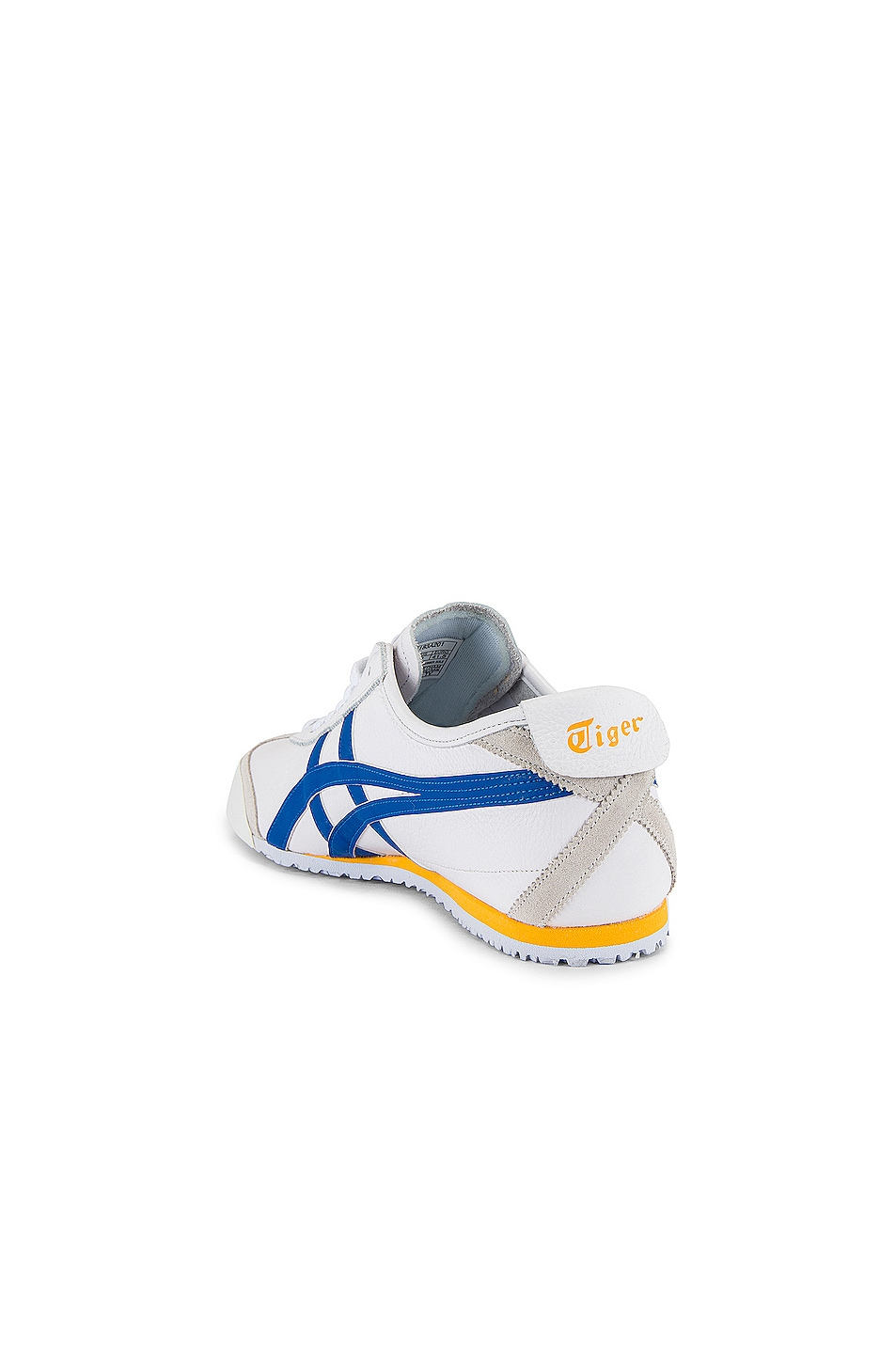 Image 3 of Onitsuka Tiger Mexico 66 in White & Freedom Blue