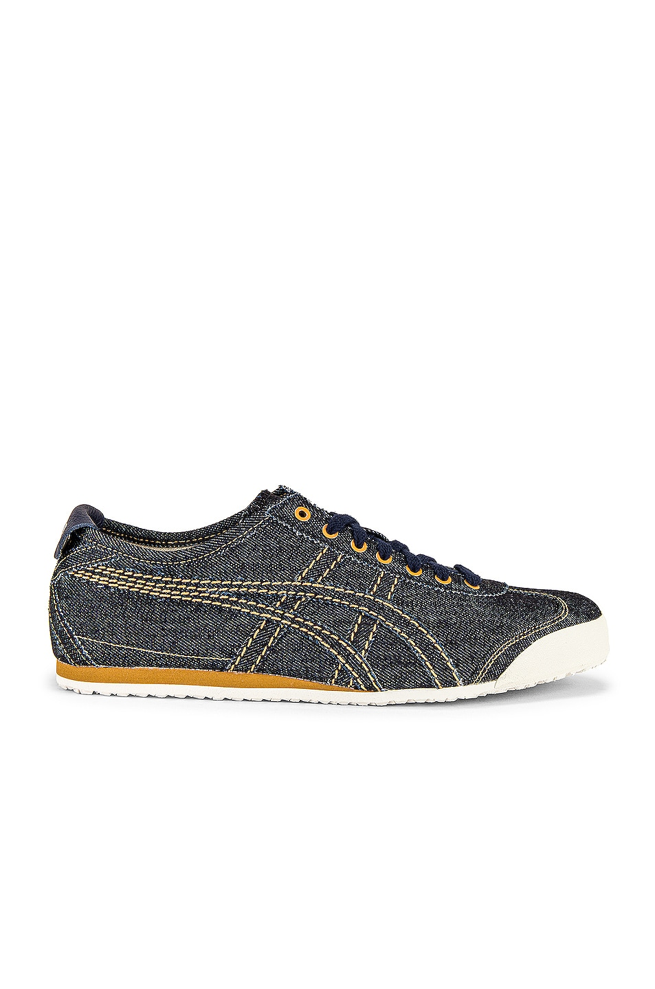 Image 2 of Onitsuka Tiger Mexico 66 in Midnight & Midnight