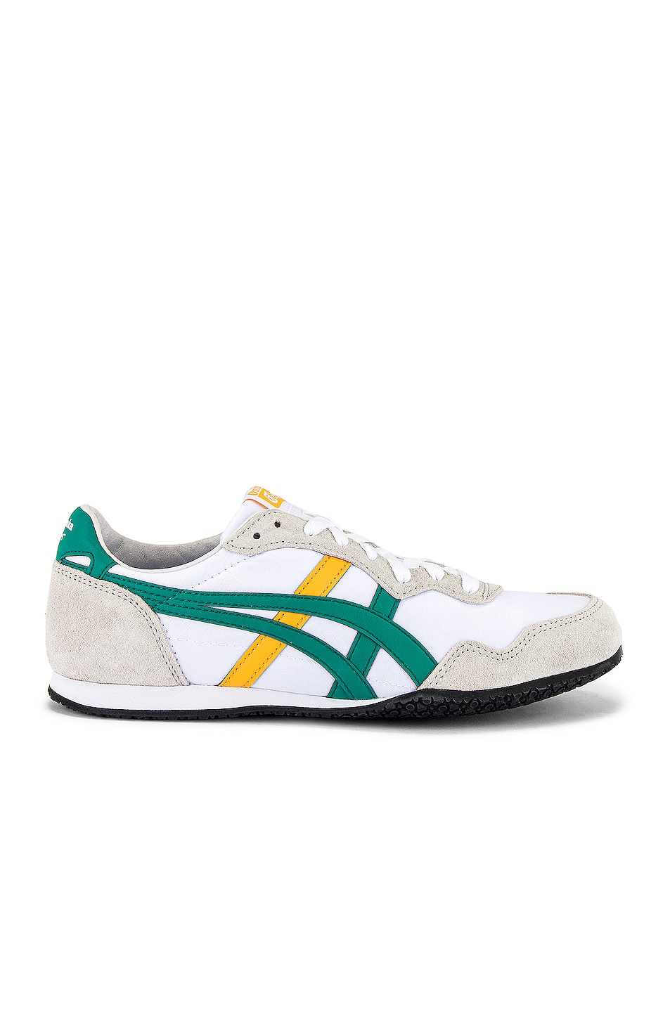 Image 2 of Onitsuka Tiger Serrano in White & Jelly Bean
