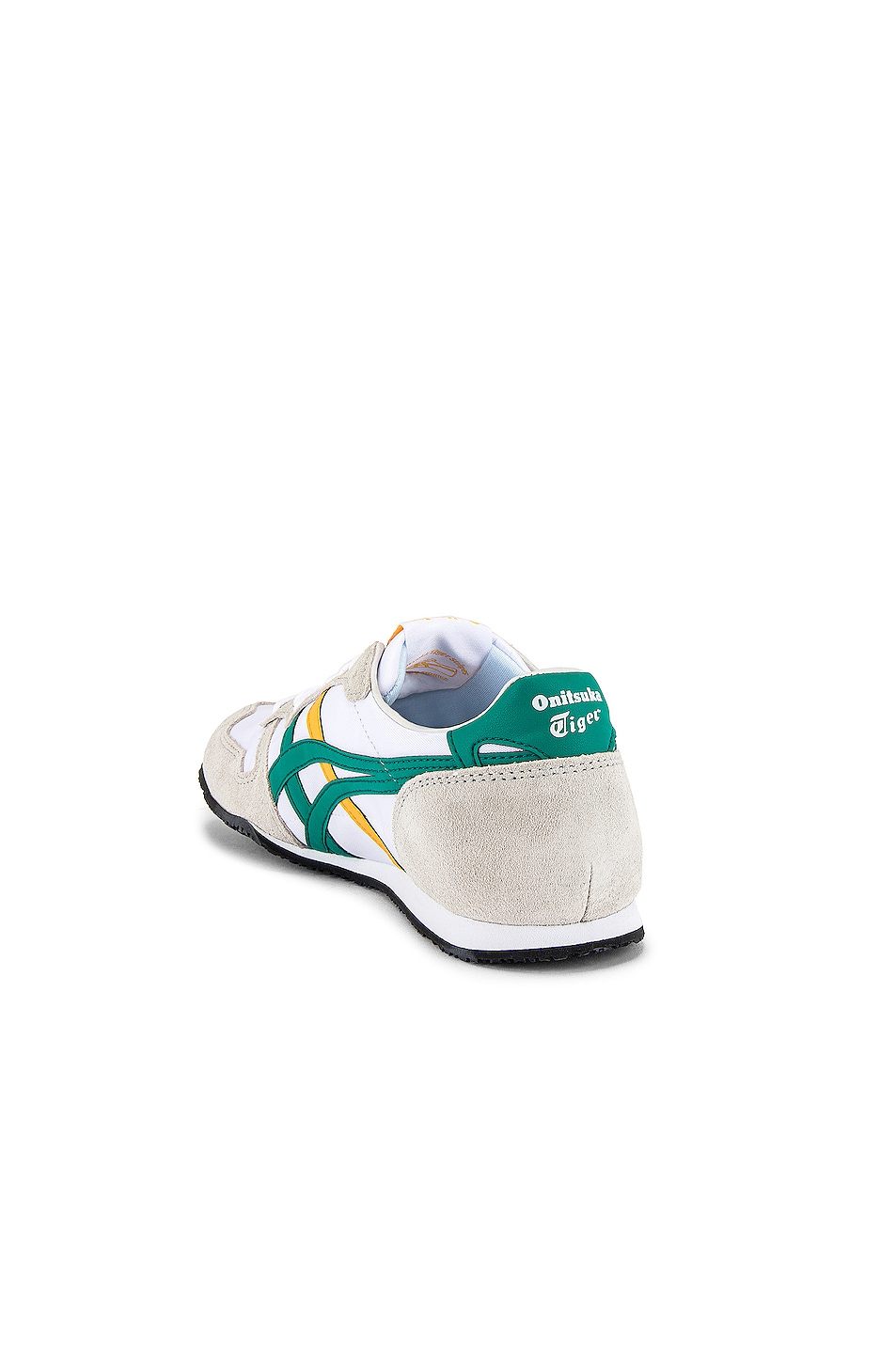 Image 3 of Onitsuka Tiger Serrano in White & Jelly Bean