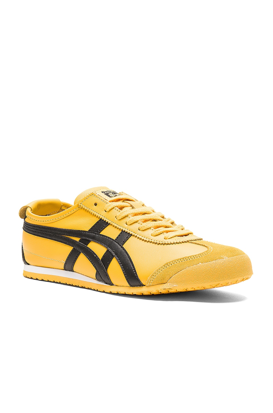 Image 2 of Onitsuka Tiger Mexico 66 in Yellow Black