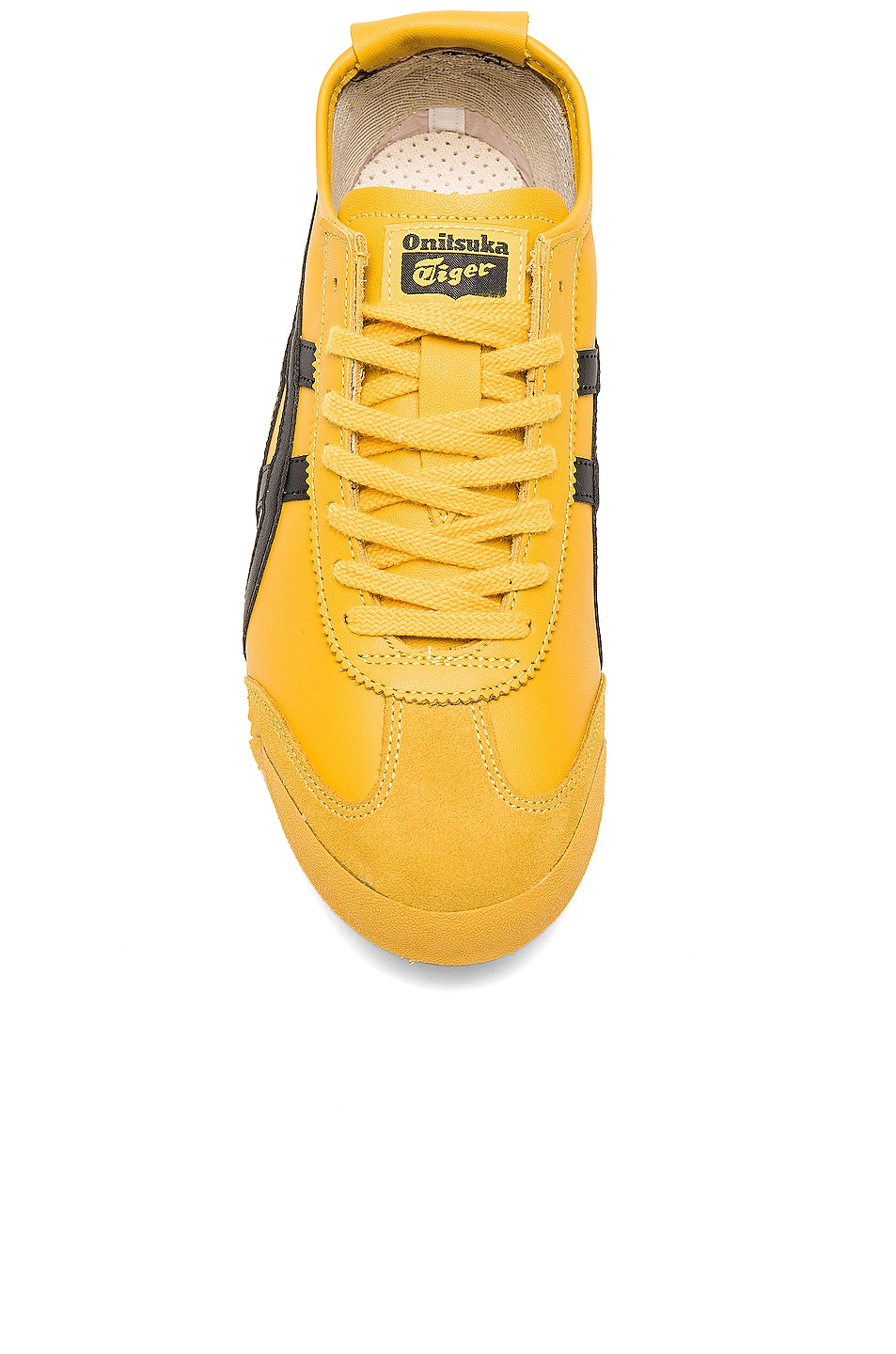 Image 4 of Onitsuka Tiger Mexico 66 in Yellow Black
