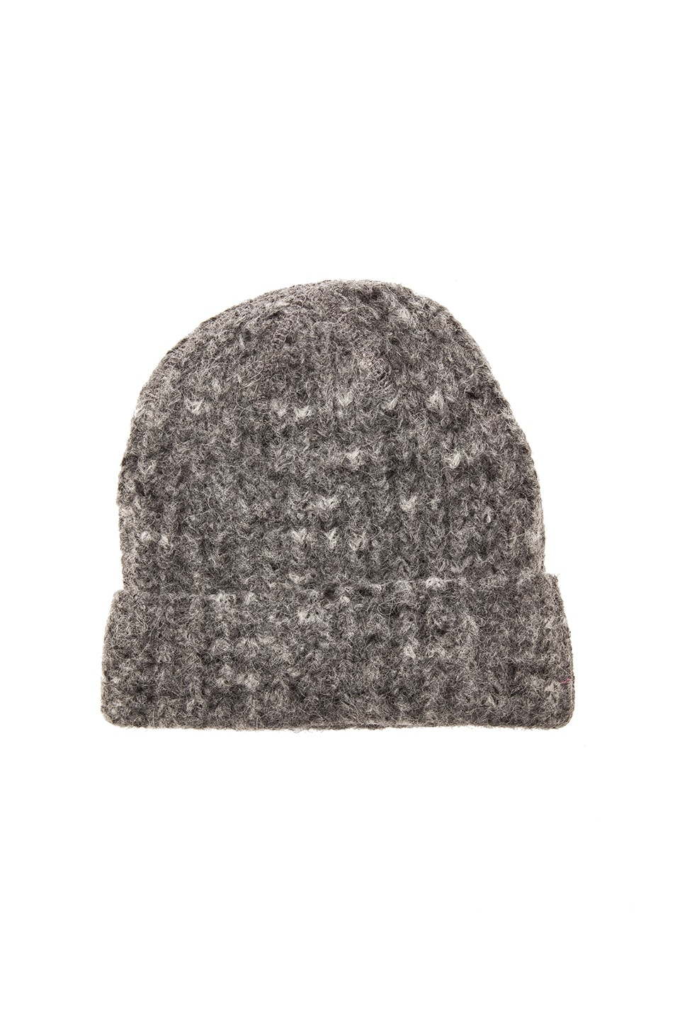 e7f5bcbd9 Our Legacy Knitted Hat in Spotted Grey | FWRD