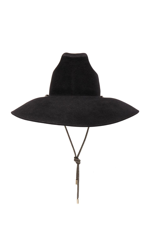 Image 1 of Palm Angels Surfer Hat in Black
