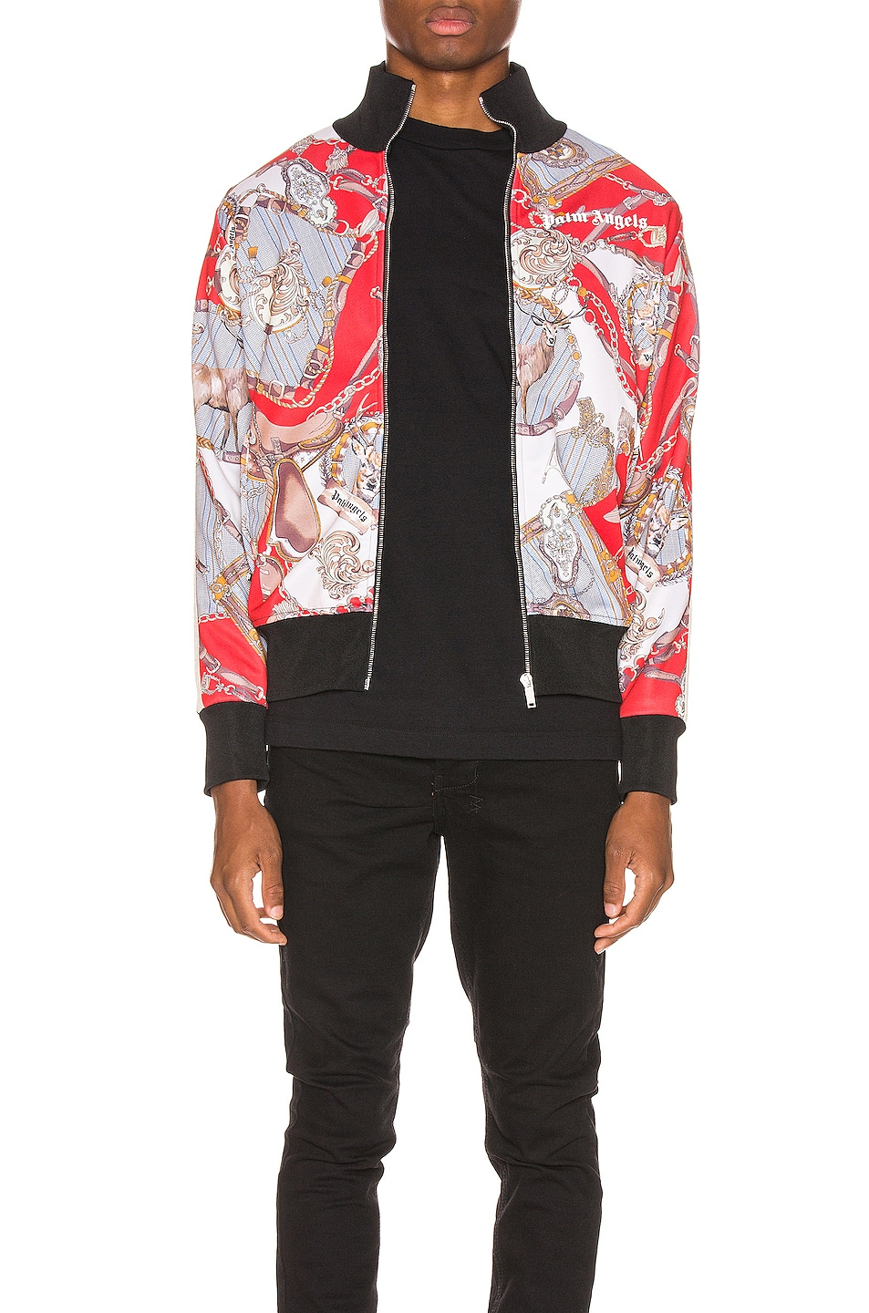 Image 1 of Palm Angels Hot Bridle Track Jacket in Multi