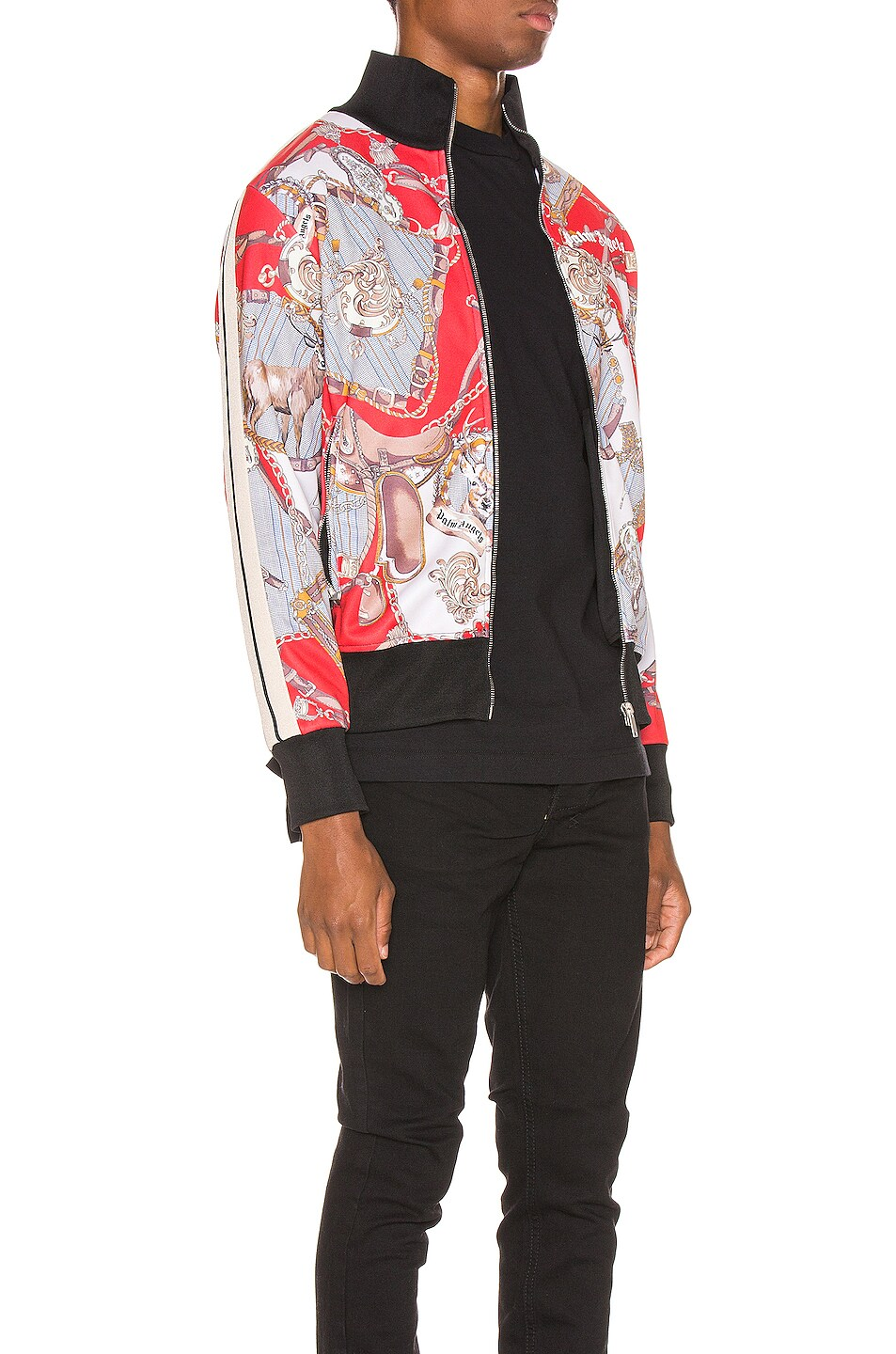 Image 3 of Palm Angels Hot Bridle Track Jacket in Multi