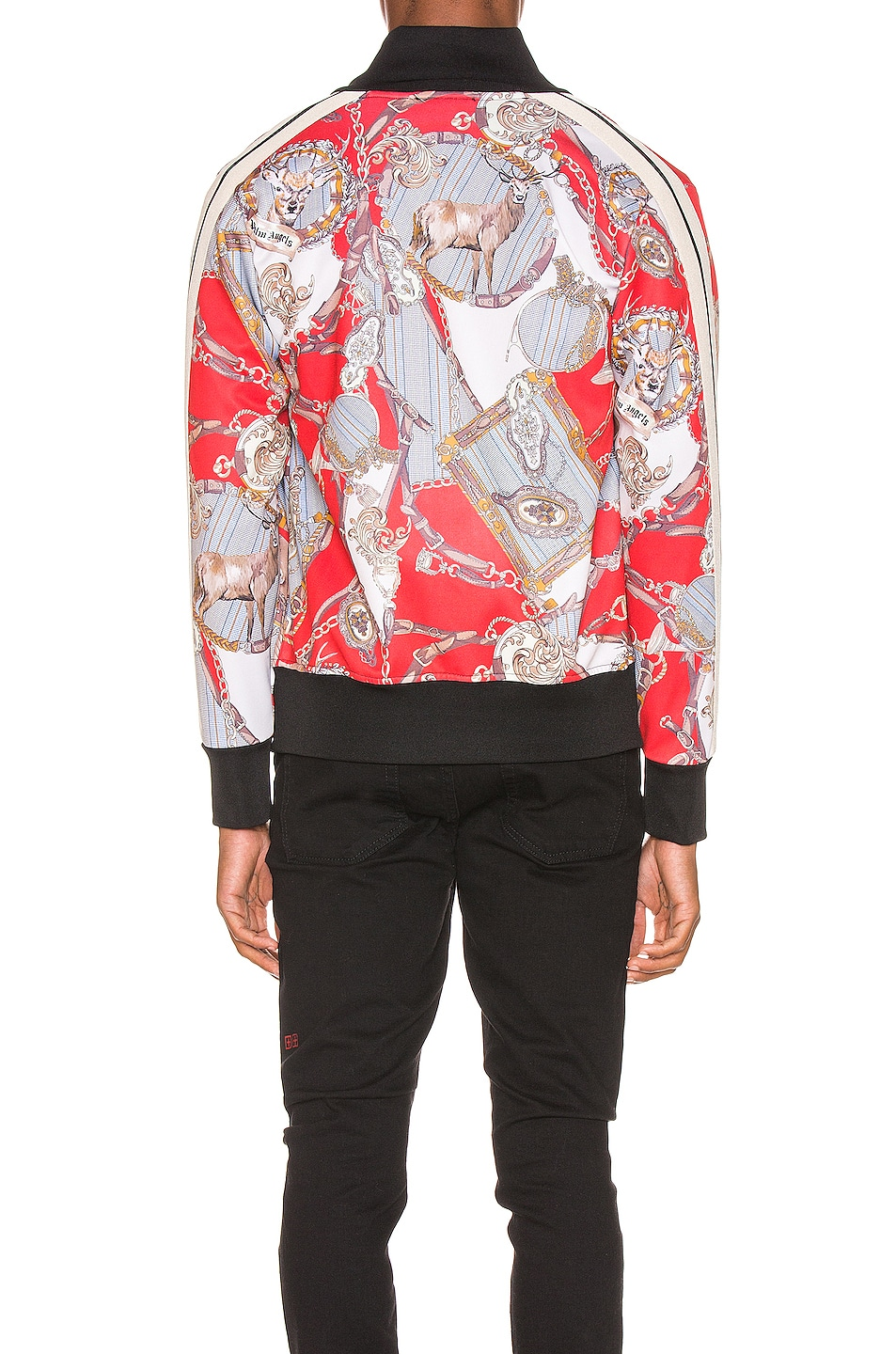 Image 4 of Palm Angels Hot Bridle Track Jacket in Multi