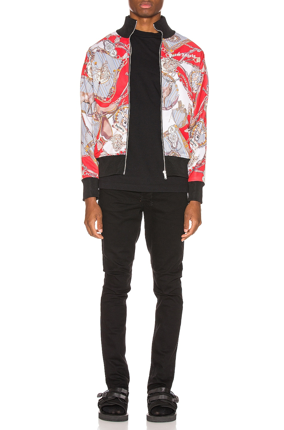 Image 5 of Palm Angels Hot Bridle Track Jacket in Multi