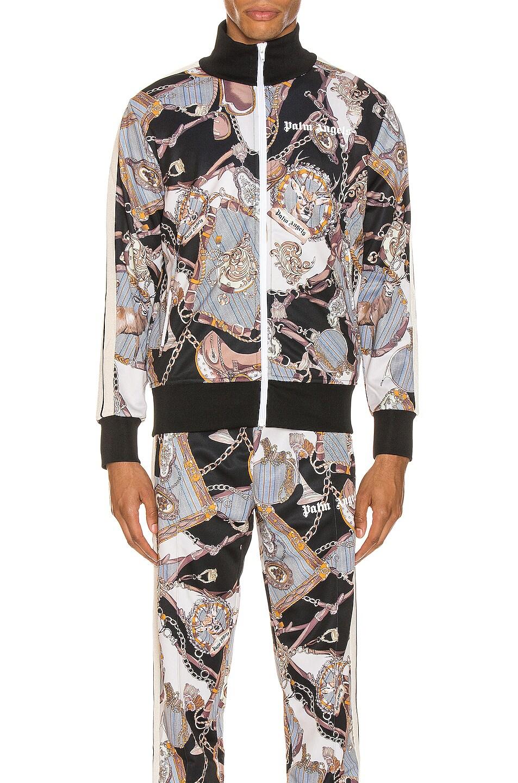 Image 1 of Palm Angels Dark Bridle Track Jacket in Multi