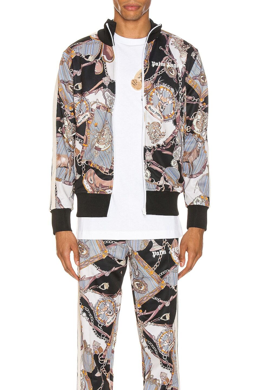 Image 2 of Palm Angels Dark Bridle Track Jacket in Multi