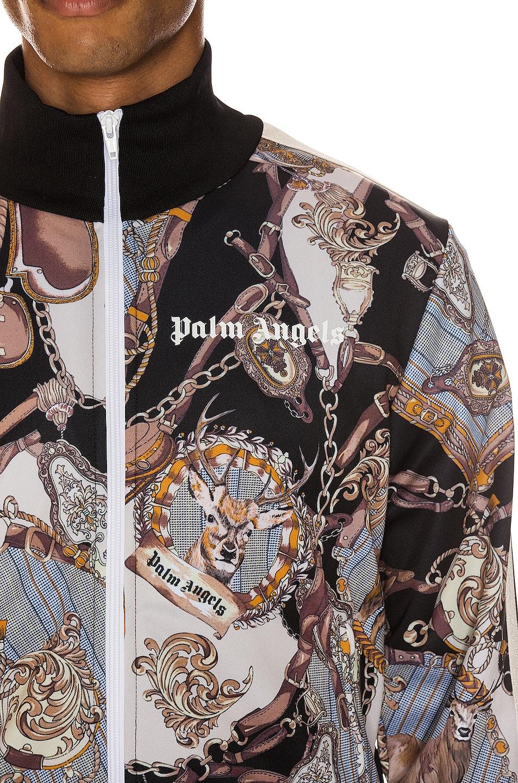 Palm Angels Jackets Dark Bridle Track Jacket