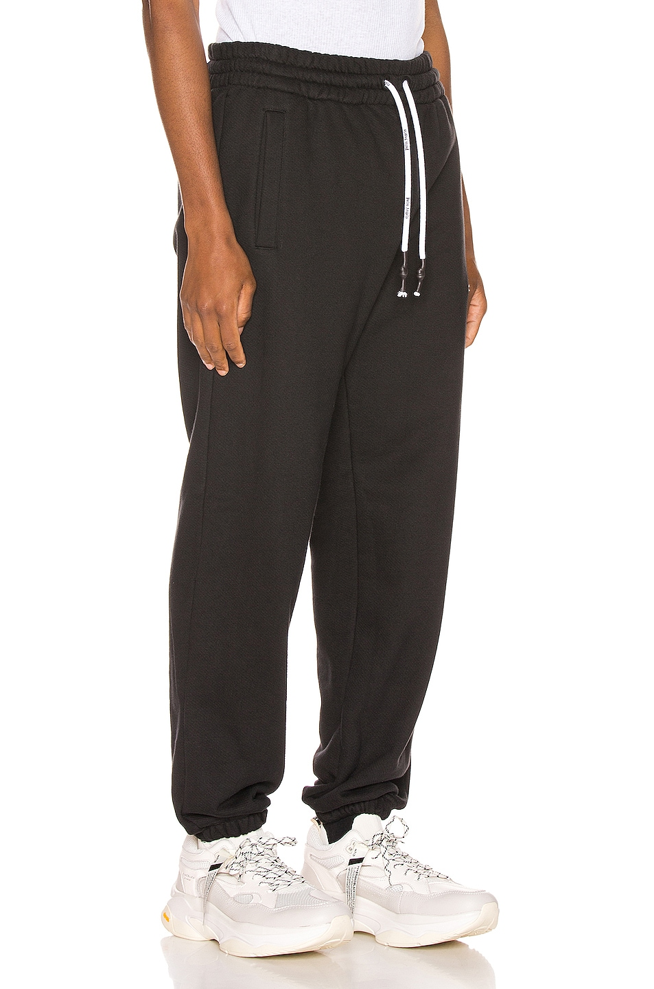 Image 3 of Palm Angels Mini Kill The Bear Sweatpants in Black Brow