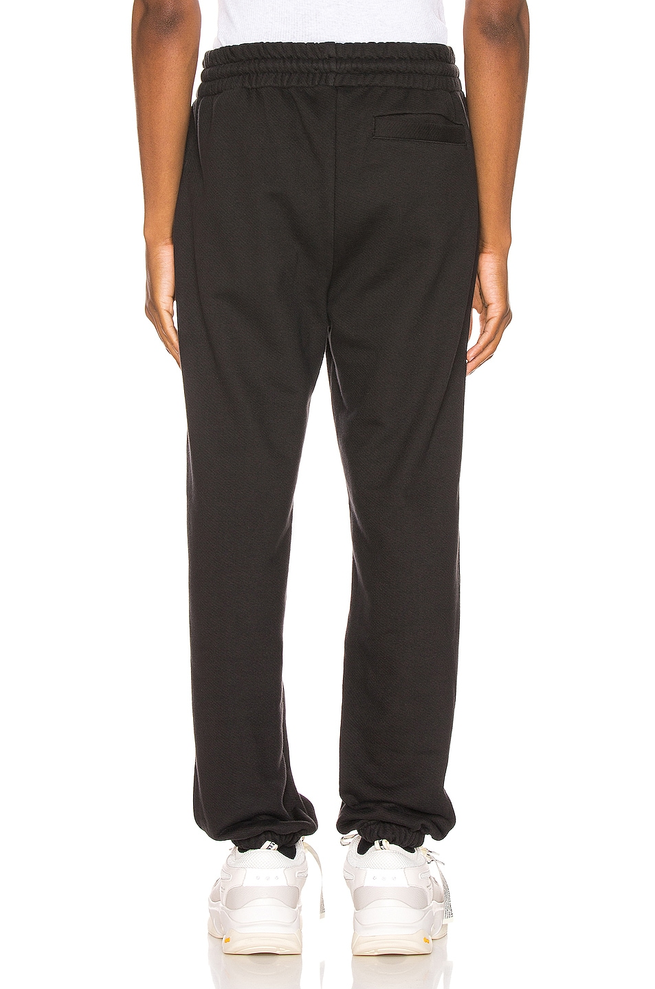 Image 4 of Palm Angels Mini Kill The Bear Sweatpants in Black Brow