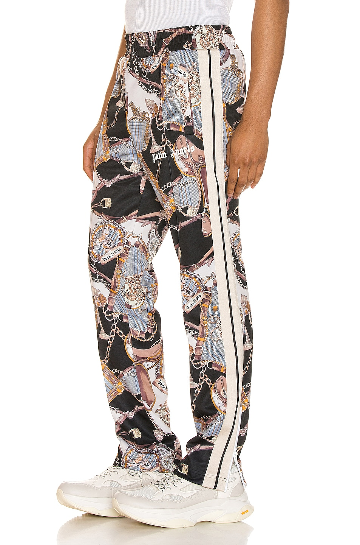 Palm Angels Pants Dark Bridle Track Pants