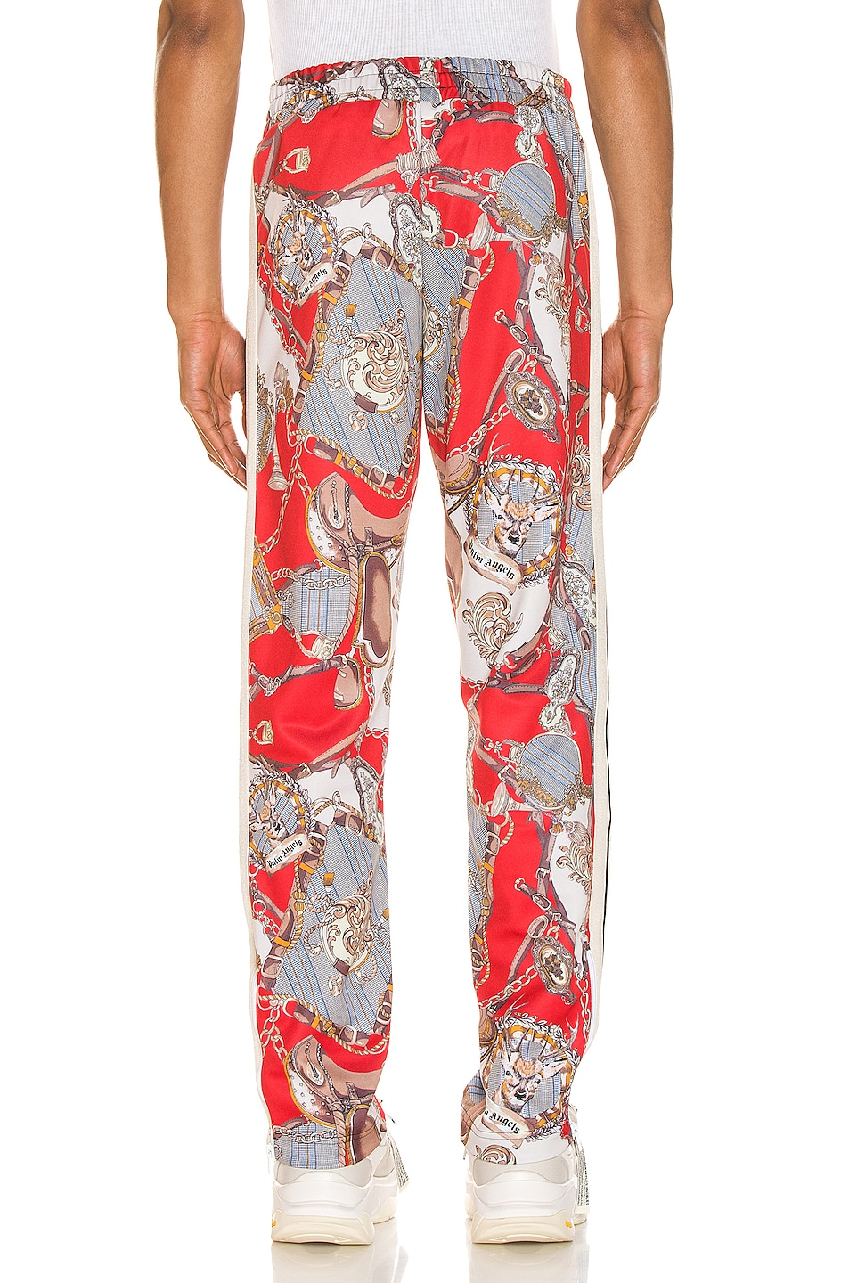Image 4 of Palm Angels Hot Bridle Track Pants in Multi