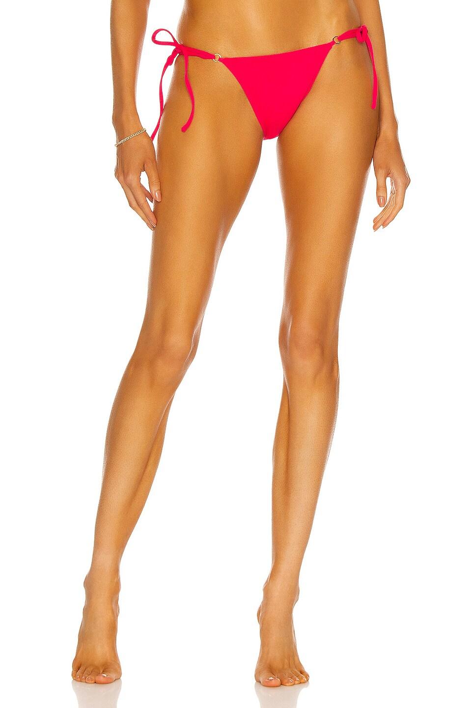 Image 1 of Palm Talise Bikini Bottom in Fuchsia