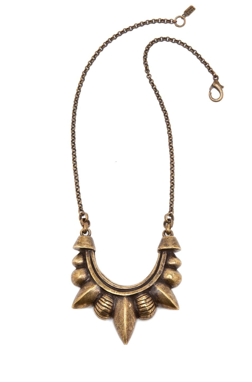 Image 1 of Pamela Love Tribal Spike Necklace in Antique Bronze