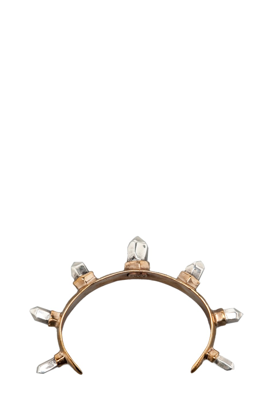 Image 1 of Pamela Love Spike Cuff in Gold