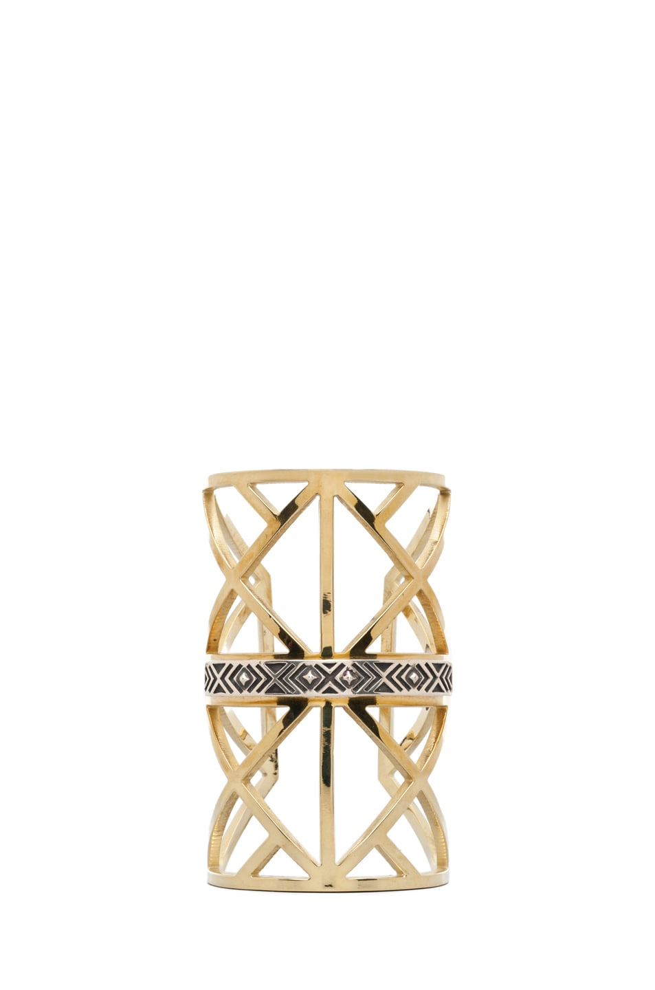 Image 1 of Pamela Love Wrought Iron Cuff in Brass