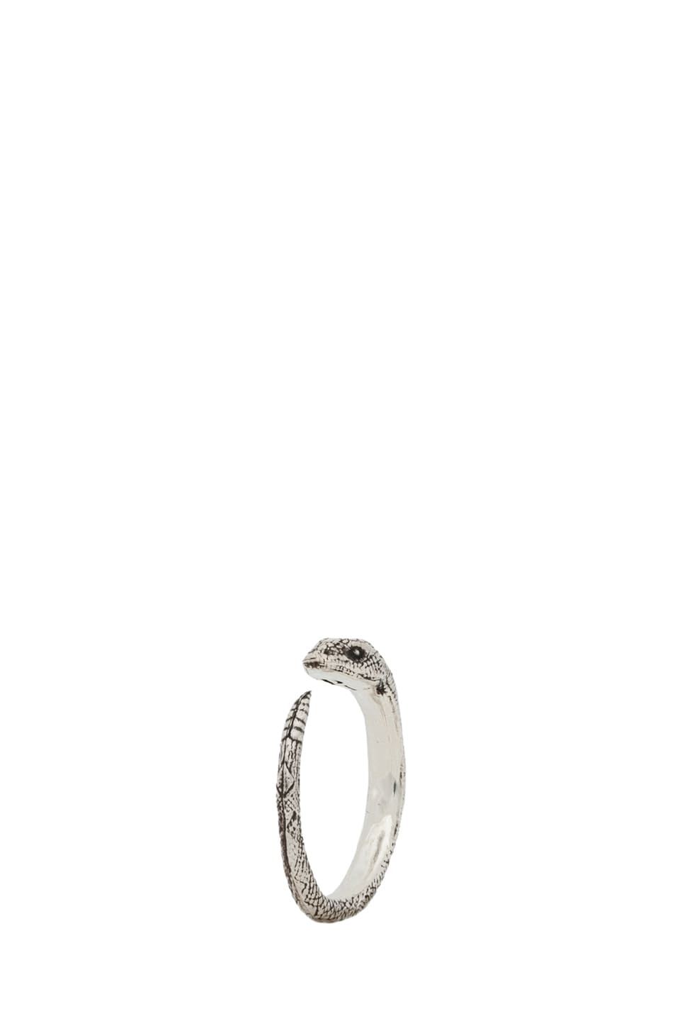 Image 1 of Pamela Love Serpent Ring in Sterling Silver