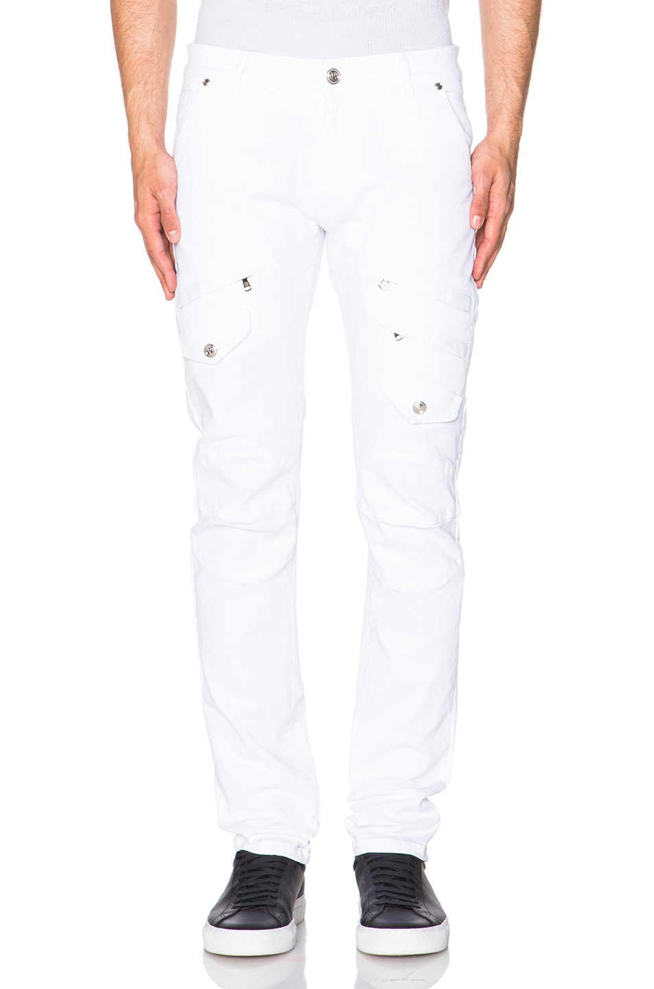 Image 1 of Pierre Balmain Jeans in Optic White