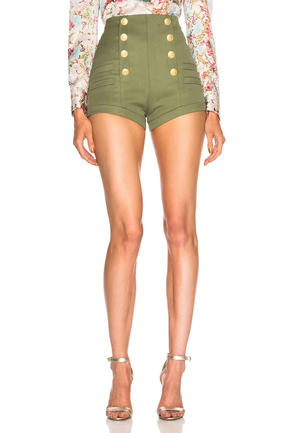Image 1 of Pierre Balmain Short in Khaki