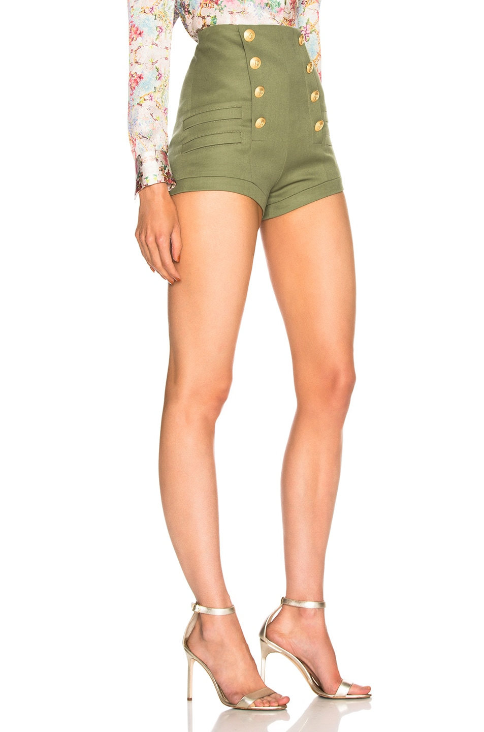 Image 2 of Pierre Balmain Short in Khaki