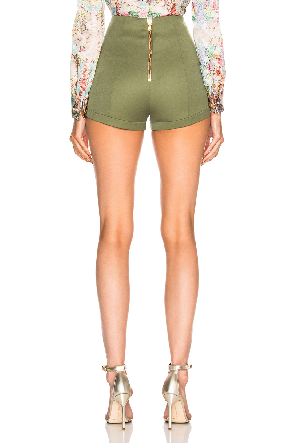 Image 3 of Pierre Balmain Short in Khaki