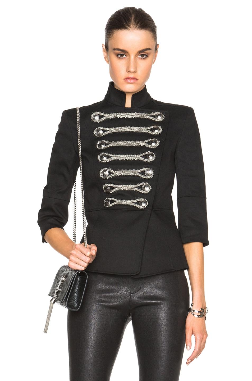 Image 1 of Pierre Balmain Tuxedo Jacket in Black