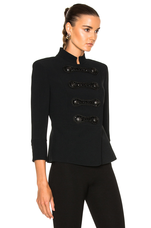 1877f3c1 Image 3 of Pierre Balmain Military Jacket in Black