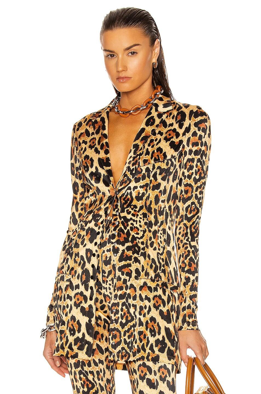 Image 1 of PACO RABANNE Blazer in Leopard