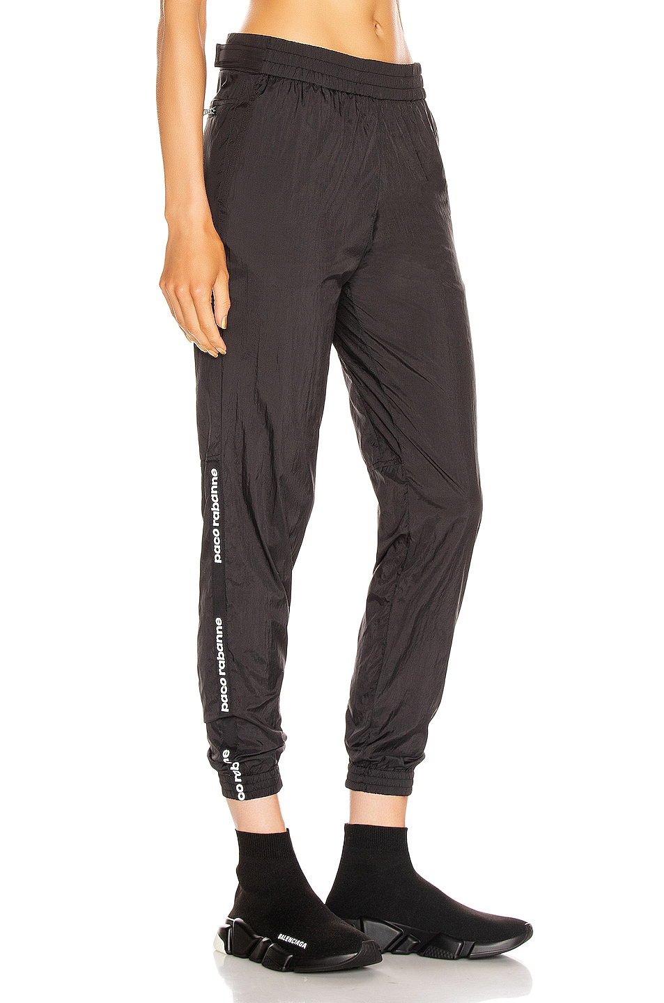 Image 3 of PACO RABANNE Jogger Pant in Black