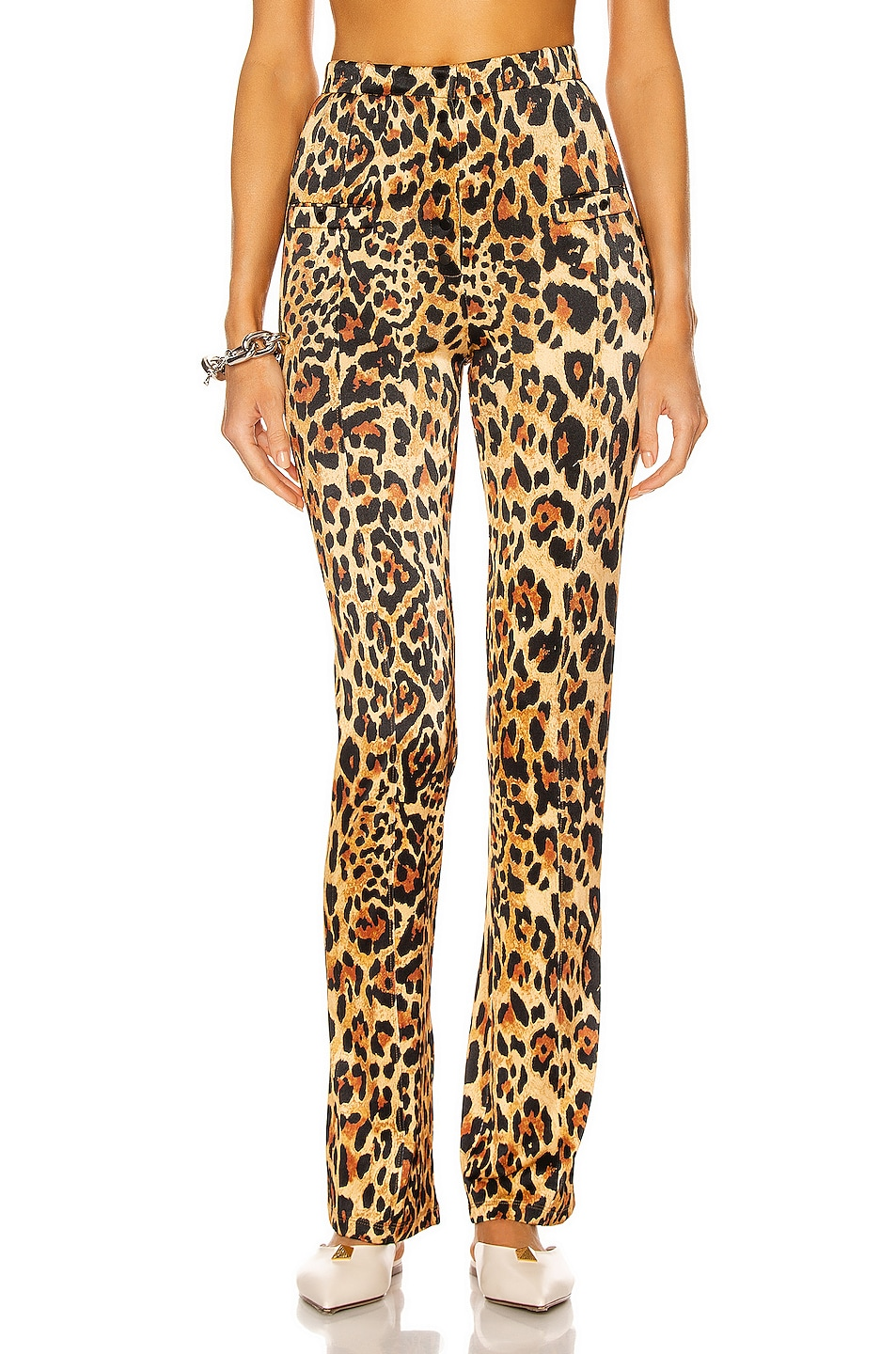 Image 1 of PACO RABANNE Tailored Pant in Leopard