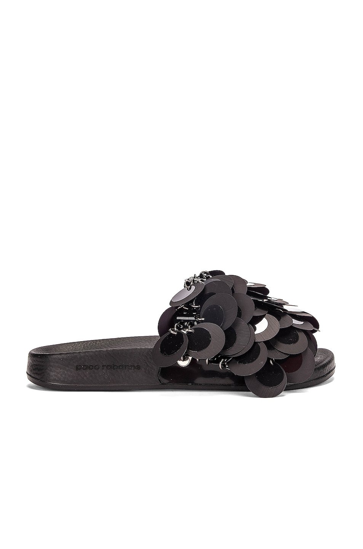 Image 1 of PACO RABANNE Sparkle Sandal in Black