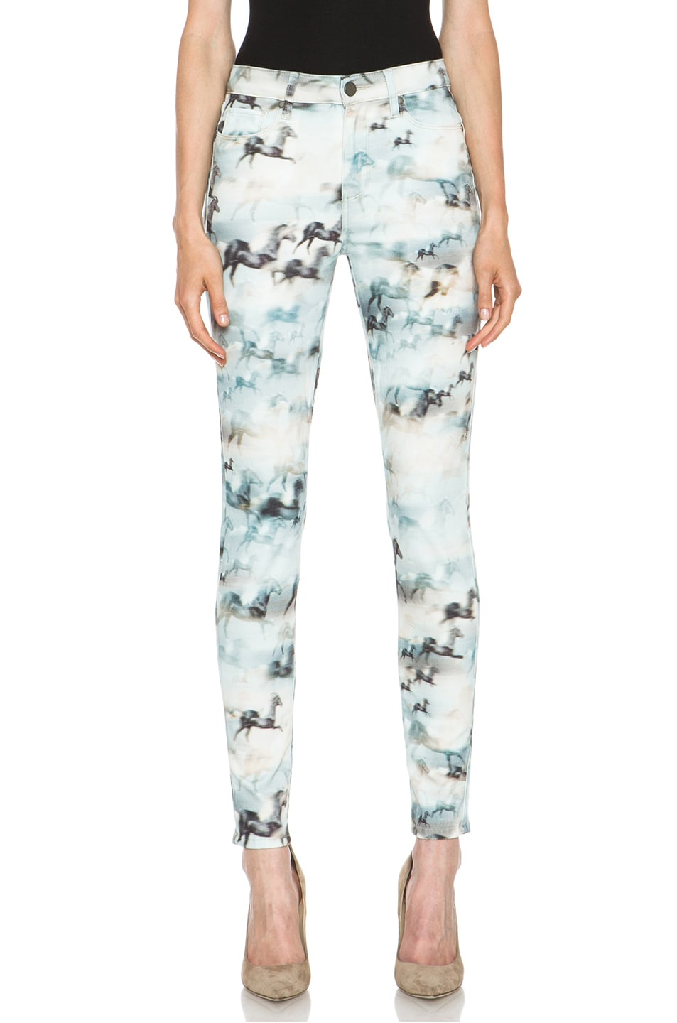 Image 1 of PAIGE Hoxton Ultra Skinny Jean in Wild Horses