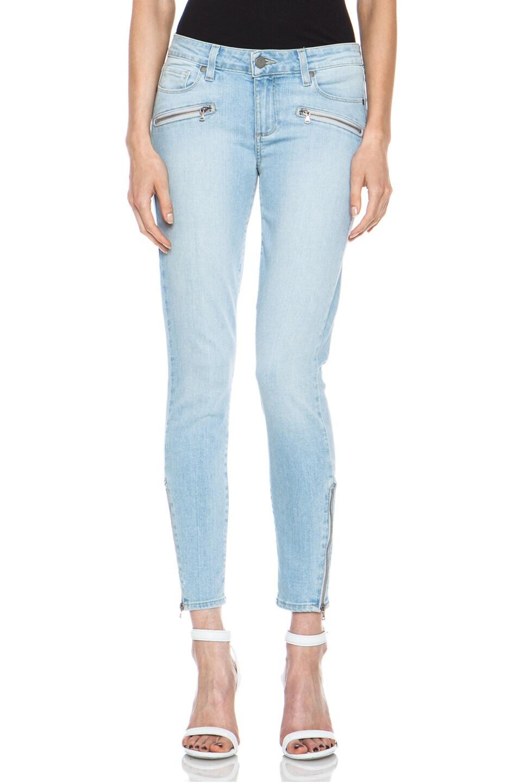 Image 1 of PAIGE Jane Zip Ultra Skinny Jean in Naomi