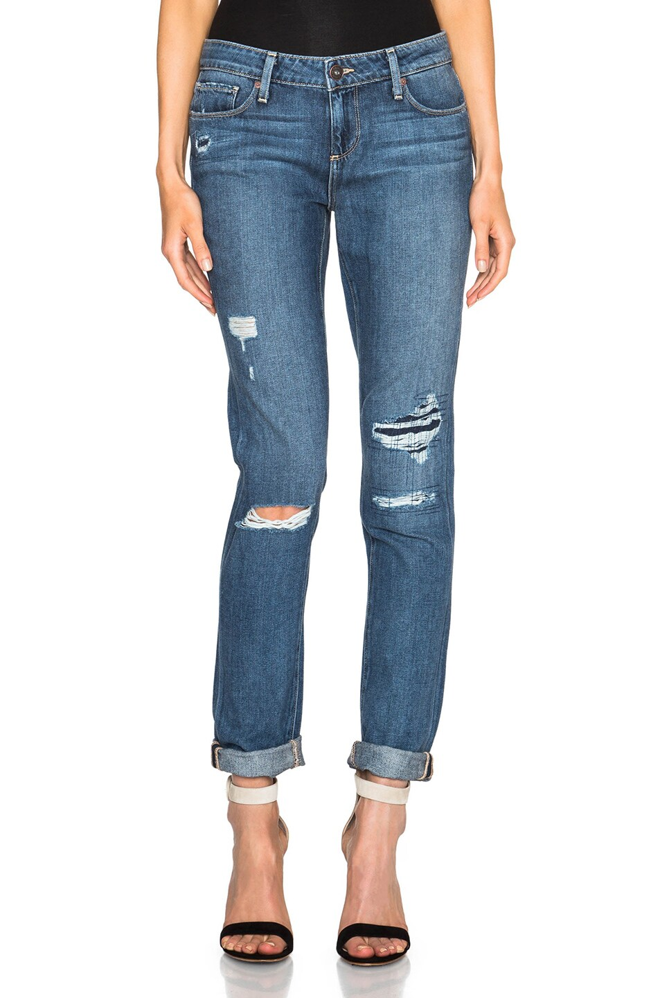 Image 1 of PAIGE Jimmy Jimmy Skinny in Esme Destructed